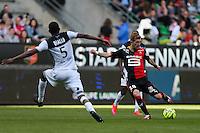 Pedro HENRIQUE - 12.04.2015 - Rennes / Guingamp - 32eme journee de Ligue 1 <br /> Photo : Vincent Michel / Icon Sport