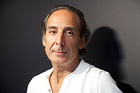 Venice, Italy, 31st August 2019, composer Alexandre Desplat at the photocall for the film Adults in the Room at the 76th Venice Film Festival, Excelsior Hotel. Credit: Doreen Kennedy