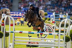 De Luca Lorenzo, ITA, Ensor de Litrange Lxii<br /> CHIO Aachen 2019<br /> Weltfest des Pferdesports<br /> © Hippo Foto - Dirk Caremans<br /> De Luca Lorenzo, ITA, Ensor de Litrange Lxii
