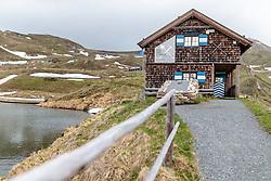 THEMENBILD - Das Ausstellungshaus - Bau der Strasse. Die Grossglockner Hochalpenstrasse verbindet die beiden Bundeslaender Salzburg und Kaernten mit einer Laenge von 48 Kilometer und ist als Erlebnisstrasse vorrangig von touristischer Bedeutung, aufgenommen am 5. Juni 2017, Fusch a. d. Glocknerstrasse, Oesterreich // the Constuction of the Road House. The Grossglockner High Alpine Road connects the two provinces of Salzburg and Carinthia with a length of 48 km and is as an adventure road priority of tourist interest at Fusch a. d. Glocknerstrasse, Austria on 2017/06/05. EXPA Pictures © 2017, PhotoCredit: EXPA/ JFK