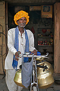 Rural Milkman - Jait Sagar, India