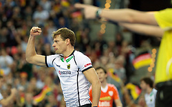LEIZPIG - WC HOCKEY INDOOR 2015<br /> GER v NED (Semi Final 1)<br /> OTTE Alexander<br /> FFU PRESS AGENCY COPYRIGHT FRANK UIJLENBROEK