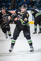 KELOWNA, CANADA - JANUARY 26: Leon Draisaitl #29 of the Prince Albert Raiders skates on the ice during warm up at the Kelowna Rockets on January 26, 2013 at Prospera Place in Kelowna, British Columbia, Canada (Photo by Marissa Baecker/Shoot the Breeze) *** Local Caption ***
