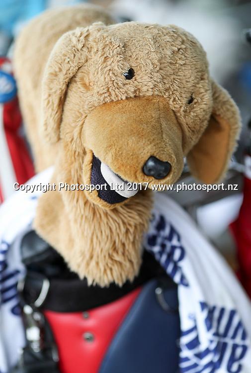 Club covers. Round 2, McKayson NZ Women's Open 2017. LPGA Tour. Windross Farm, Auckland, New Zealand. Thursday 28 September, 2017. Copyright photo: John Cowpland / www.photosport.nz