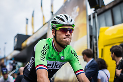 Lars Boom (NED) of Belkin Pro Cycling, Tour de France, Stage 14: Grenoble / Risoul, UCI WorldTour, 2.UWT, Grenoble, France, 19th July 2014, Photo by BrakeThrough Media