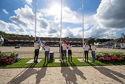 Flag<br /> World Championship Young Dressage Horses <br /> Ermelo 2016<br /> © Hippo Foto - Dirk Caremans<br /> 31/07/16