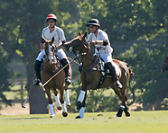 Princes Harry & William - Royal Employees At Polo