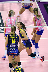 18-11-2017 ITA: Imoco Volley Conegliano - Saugella Team Monza, Treviso<br /> Robin de Kruijf #5 of Conegliano<br /> <br /> <br /> *** NETHERLANDS USE ONLY ***