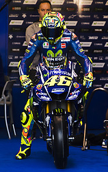 November 11, 2017 - Valencia, Valencia, Spain - 46 Valentino Rossi (Italian) Movistar Yamaha Motogp Yamaha during qualifying the Gran Premio Motul de la Comunitat Valenciana, Circuit of Ricardo Tormo,Valencia, Spain. Saturday 11th of november 2017. (Credit Image: © Jose Breton/NurPhoto via ZUMA Press)