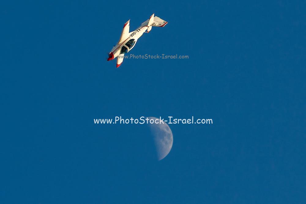 Israeli Air force (IAF) Grob G-120A (Snunit) cadet training plane