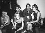 Magda Meissner, Heidi Levoie, Alex Lasky, Duncan Sheik and Anh Duong. Plum & Lucy Sykes 30th birthday. Lot 61,  550 West 21 St. NY.   4/12/99<br />© Copyright Photograph by Dafydd Jones 66 Stockwell Park Rd. London SW9 0DA Tel 020 7733 0108 www.dafjones.com