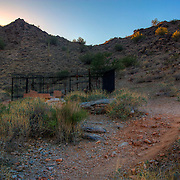 Grave site along Gold Mine Trail - San Tan Regional Park, Queen Creek, AZ
