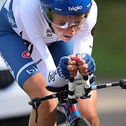 04-09-2015: Wielrennen: Ladiestour: Oosterhout OOSTERHOUT (NED) wielrennen<br />De vierde etappe was in Oosterhout een gevecht tegen het uurwerk.<br />Annemiek van Vleuten