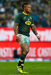 Elton Jantjies of South Africa- Mandatory by-line: Steve Haag/JMP - 23/06/2018 - RUGBY - DHL Newlands Stadium - Cape Town, South Africa - South Africa v England 3rd Test Match, South Africa Tour