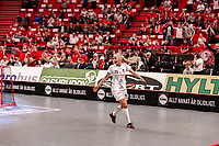 2019-04-17 | Stockholm | Täby FC IBK (16) Anna Peterzen during the Final Game of SSL floorball at Globen Arena. (Photo by Daniel Carlstedt | Swe Press Photo).