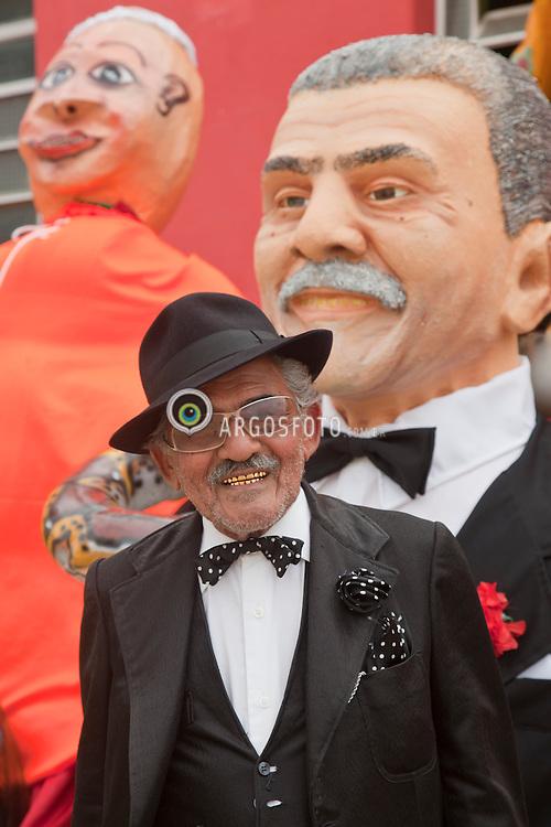 Bicharada de Salgueiro ou Bonecos do Bloco da Bicharada, tradicionais no carnaval da cidade de Salgueiro, criados em 1949 por Mestre Jaime Concerva. / Traditional carnival in the town of Salgueiro, puppets created by the master Jaime Concerva, a tradition since 1949.