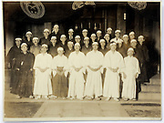 male group portrait vintage Japan