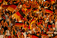 Photo: Glyn Thomas.<br />Germany v Portugal. Third Place Playoff, FIFA World Cup 2006. 08/07/2006.<br /> Germany fans.