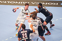 Bastien Laumon / Zacharia N Diaye - 14.05.2015 - PSG / Dunkerque - 23eme journee de D1<br /> Photo : Andre Ferreira / Icon Sport