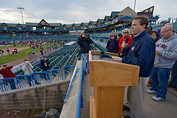 Congressman Donald Norcross at the opening ceremony of the 2015 Run the Bridge. (Bastiaan Slabbers/for PhillyVoice)