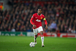 22.11.2011, Old Trafford, Manchester, ENG, UEFA CL, Gruppe C, Manchester United (ENG) vs Benfica Lissabon (POR), im Bild Manchester United's Patrice Evra in action against SL Benfica during the football match of UEFA Champions league, group C, between Manchester United (ENG) vs Benfica Lissabon (POR) at Old trafford, Manchester, United Kingdom on 22/11/2011. EXPA Pictures © 2011, PhotoCredit: EXPA/ Sportida/ David Rawcliff..***** ATTENTION - OUT OF ENG, GBR, UK *****
