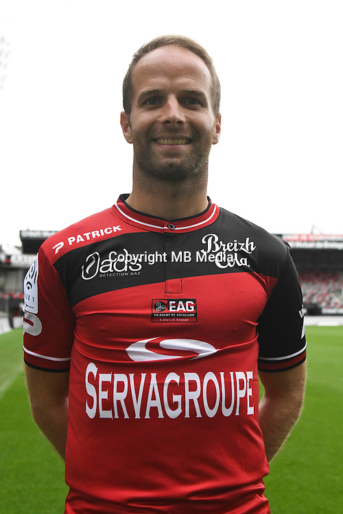 Etienne Didot of Guingamp during the Photo shooting of En Avant Guingamp on september 27th 2016<br /> Photo : Philippe Le Brech / Icon Sport