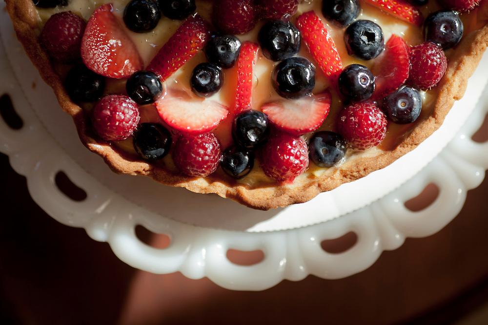 Sandrine's French Pastries Fruit Tart
