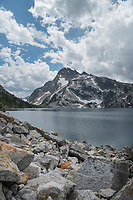 Sawtooth Lake and Mount Regan, Sawtooth Mountains Wilderness Idaho
