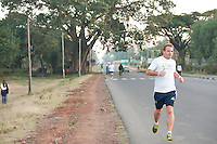 24/11/2013 repro free David Burns Self Help Africa taking part in the Great Ethiopian run in Hawassa as opposed to the Capital Addis Ababa due to a security threat, part of a group of 20 from Ireland who ran the race in aid of Self Help Africa. Photo:Andrew Downes