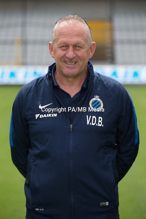 Club's assistant coach Stan Van den Buijs poses for the photographer during the 2015-2016 season photo shoot of Belgian first league soccer team Club Brugge, Friday 17 July 2015 in Brugge