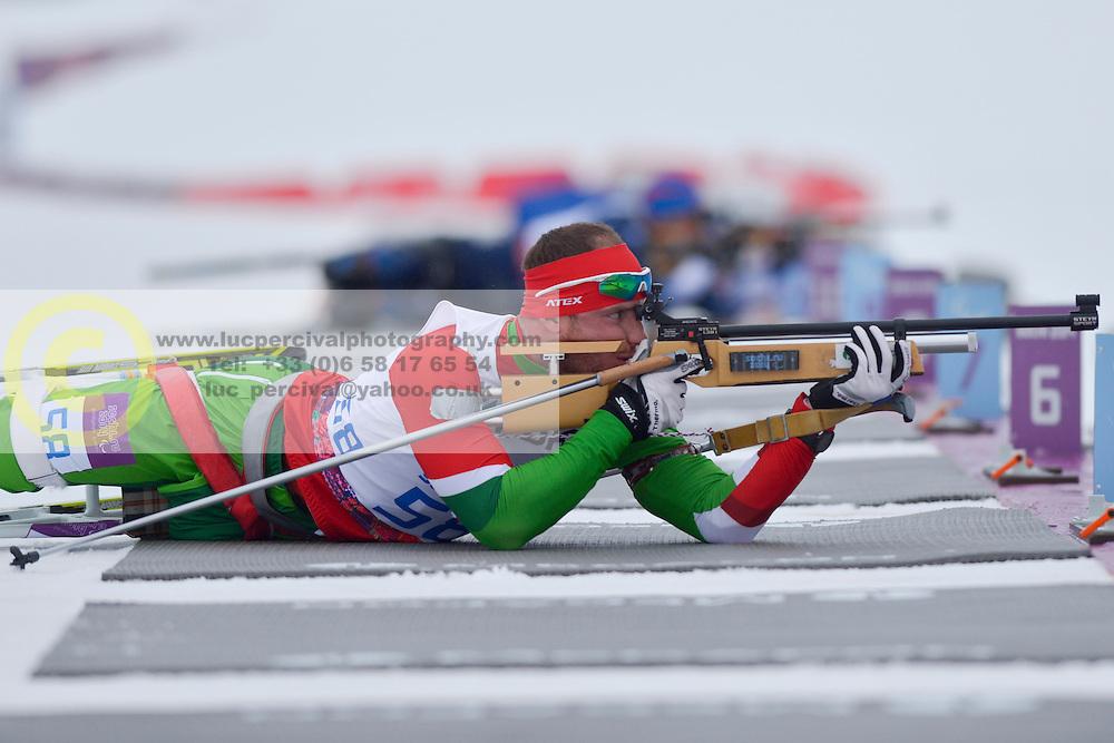 LUKYANENKA Yauheni, Biathlon at the 2014 Sochi Winter Paralympic Games, Russia