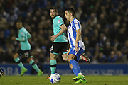 Brighton & Hove Albion winger Anthony Knockaert (11) during the EFL Sky Bet Championship match between Brighton and Hove Albion and Derby County at the American Express Community Stadium, Brighton and Hove, England on 10 March 2017. Photo by Phil Duncan.