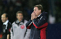Photo: Lee Earle.<br /> Portsmouth v Tottenham Hotspur. The Barclays Premiership. 01/01/2007. Portsmouth manager Harry Redknapp.