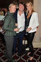Left to right, LOUISA GUINNESS, BEN BROWN and JOSIE LINDOFF at the Pig Pledge Evening at Club no41, 41 Conduit Street, London on 10th March 2014.