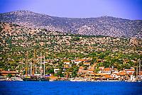 Ucagiz, Kekova Sound, Turquoise Coast, Turkey