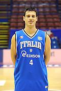 12-03-2011 MILANO ALL STAR GAME 2011 NAZIONALE ITALIANA<br /> IN FOTO: LORENZO D'ERCOLE<br /> FOTO CIAMILLO