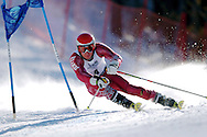 8 MAR 2007: Francesco Ghedina of the University of Denver races to a 3rd place during Men's Giant Slalom event at the 2007 NCAA Men and Women's Skiing Championships held at Attitash Mountain in Bartlett, NH, hosted by the University of New Hampshire. © Brett Wilhelm