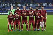 Cluj team poses before the UEFA Europa League, Group E football match between SS Lazio and CFR Cluj on November 28, 2019 at Stadio Olimpico in Rome, Italy - Photo Federico Proietti / ProSportsImages / DPPI