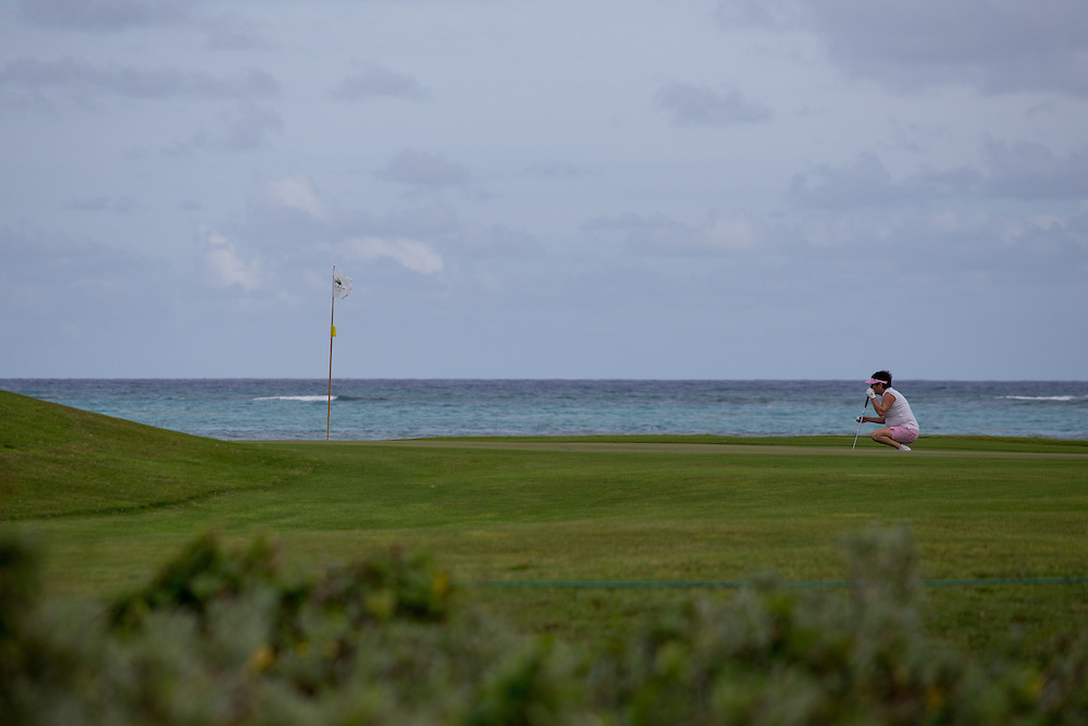 PUNTA CANA, DOMINICAN REPUBLIC-DECEMBER 4, 2014: La Cana Golf Course in Punta Cana. Story on tourism to the Caribbean Island.  (Photo by Angel Valentin/Getty Images for Der Spiegel)