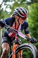 BATTEN Haley (USA) at the Women's U23 2019 Mountain Bike Cross Country World Championships in Mont-Sainte-Anne, Canada.