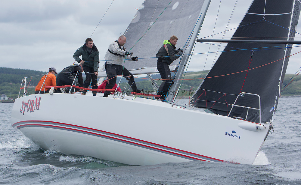Silvers Marine Scottish Series 2017<br /> Tarbert Loch Fyne - Sailing Day 3<br /> <br /> IRL1141, Storm, Pat Kelly