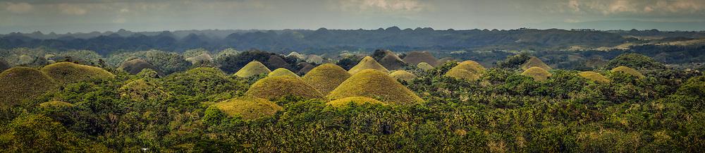 Chocolate Hills, Carmen, Bohol, Philippines