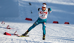 28.01.2017, Casino Arena, Seefeld, AUT, FIS Weltcup Nordische Kombination, Seefeld Triple, Langlauf, im Bild Francois Braud (FRA) // Francois Braud of France during Cross Country Gundersen Race of the FIS Nordic Combined World Cup Seefeld Triple at the Casino Arena in Seefeld, Austria on 2017/01/28. EXPA Pictures © 2017, PhotoCredit: EXPA/ JFK