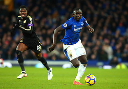 Oumar Niasse of Everton goes past Daniel Amartey of Leicester City - Mandatory by-line: Robbie Stephenson/JMP - 31/01/2018 - FOOTBALL - Goodison Park - Liverpool, England - Everton v Leicester City - Premier League
