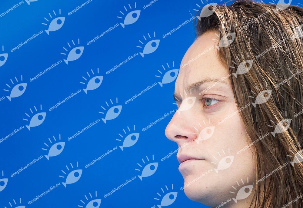 ESP vs CHN<br /> Spain (White) - China (Blue)<br /> 5 th - 8th<br /> PAREJA Jennifer (C) ESP<br /> Day 13 05/08/2015<br /> Waterpolo Women<br /> XVI FINA World Championships Aquatics<br /> Kazan Tatarstan RUS July 24 - Aug. 9 2015 <br /> Photo Pasquale Mesiano/Deepbluemedia/Insidefoto