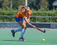 BLOEMENDAAL   -  Michelle van der Drift (Bldaal) , oefenwedstrijd dames Bloemendaal-Victoria, te voorbereiding seizoen 2020-2021.   COPYRIGHT KOEN SUYK