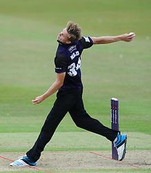 Craig Miles of Gloucestershire - Photo mandatory by-line: Dougie Allward/JMP - Mobile: 07966 386802 - 12/07/2015 - SPORT - Cricket - Cheltenham - Cheltenham College - Natwest Blast T20