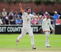 Graham Onions of Durham appeals.  - Mandatory by-line: Alex Davidson/JMP - 05/08/2016 - CRICKET - The Cooper Associates County Ground - Taunton, United Kingdom - Somerset v Durham - County Championship - Day 2