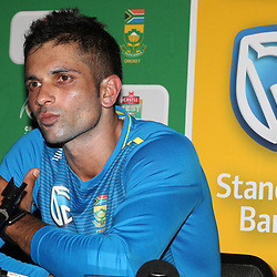 11,02,2019 South Africa Press Conference Keshav Maharaj of South Africa
