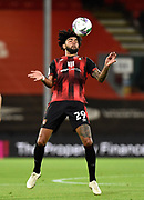 Philip Billing (29) of AFC Bournemouth controls the ball on his chest during the EFL Cup match between Bournemouth and Crystal Palace at the Vitality Stadium, Bournemouth, England on 15 September 2020.